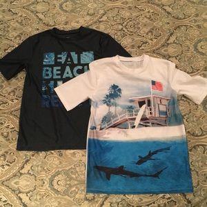 Old Navy Swim - Old Navy SS Splash Guard shirts. Boys 14-16